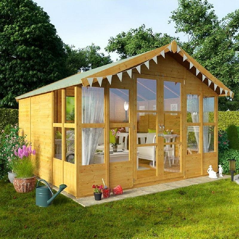 Как построить летний домик своими руками дешево 513