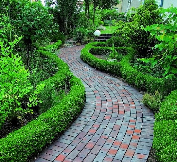 садовые дорожки в ландшафтном дизайне фото