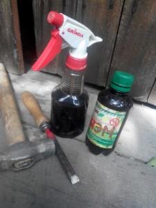 инструменты и препараты для обработки деревьев от короеда
