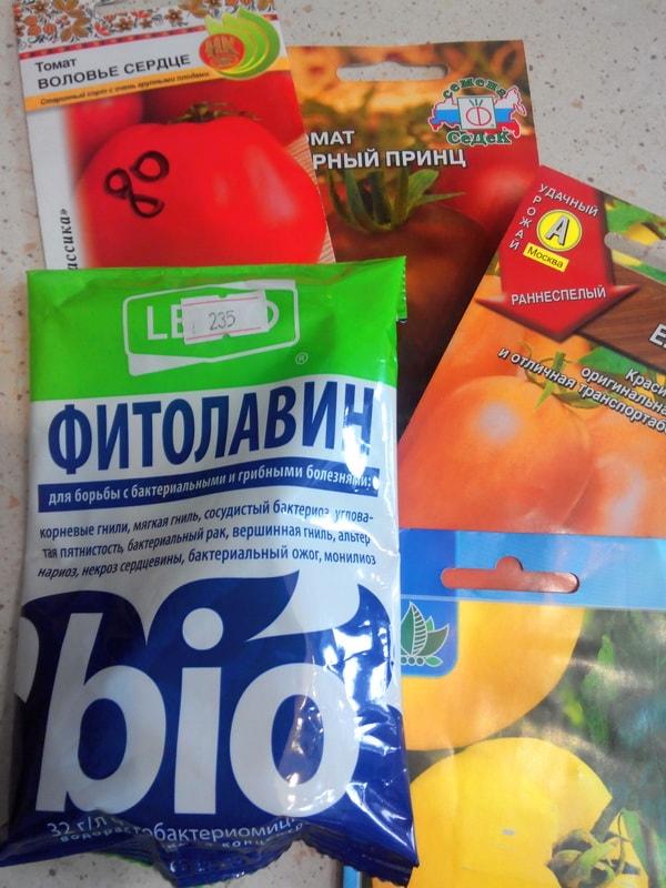 подготовка к посадке - обеззараживание семян томатов