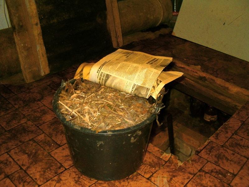 заготовка компоста на зиму