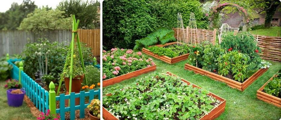 садовые ограждения для клумб и грядок (фото)