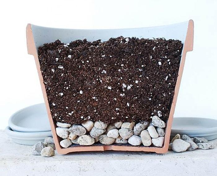как приготовить почву для горшка своими руками