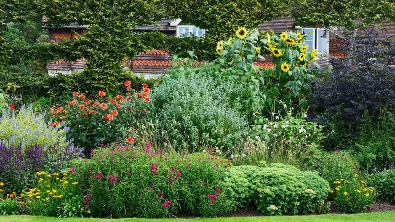 стиль кантри в саду фото