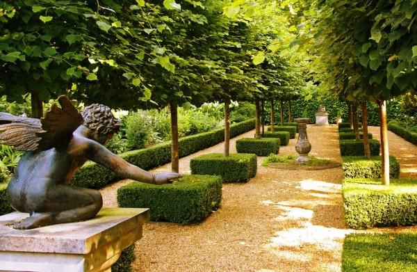 французский ландшафтный стиль сада