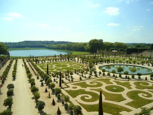 французский стиль в ландшафтном дизайне