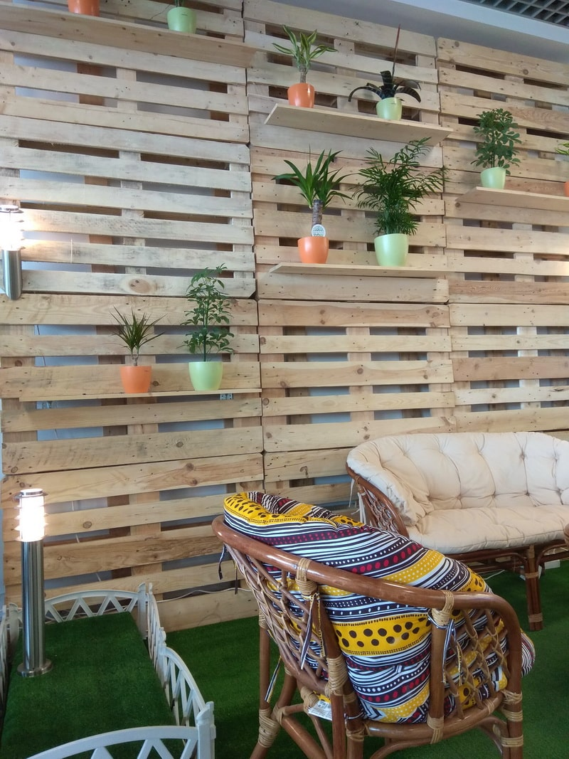 Идеи мебели из паллетов