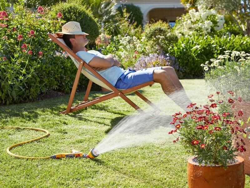 Огород без перекопки дает возможность отдохнуть и подумать